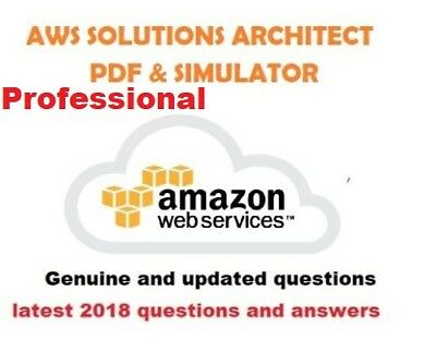 AWS Certified Solutions Architect Professional verified Exam  pdf and Simulator