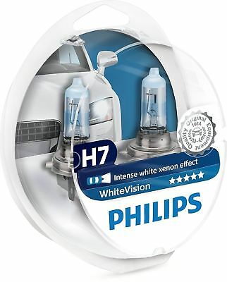 Philips H7 WhiteVision 12v Xenon Effect Upgrade Car BULBS Twin