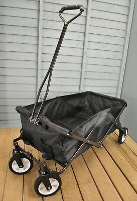 Folding Garden 4 Wheel Trolley perfect for Festivals, Picnics, Boating, Beaches