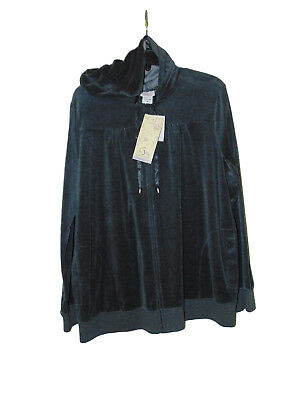 Oh Baby Maternity Light Hooded Jacket Size Xl Nwt