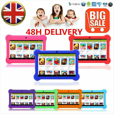 "7"" ANDROID 4.4 KIDS TABLET PC HD QUAD CORE WIFI Camera Kitoch CHILDREN GIFT"