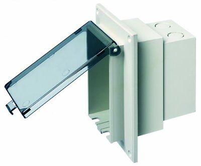Arlington DBVR1C-1 Low Profile IN BOX Electrical Box with Weatherproof Cover