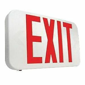 Cooper Lighting APX7R All Pro Series Self Powered LED Exit Sign w Battery Backup