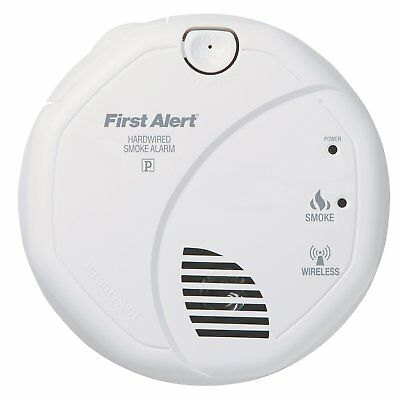 First Alert SA521CN Interconnected Hardwire Wireless Smoke Alarm Battery Backup