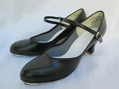 Theatricals Womens Black 8M Staccato-Selva-Toe Tap Shoes
