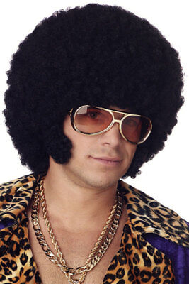 Brand New Afro Chops Halloween Costume Wig (Black)