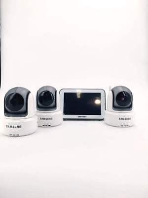 Samsung SEW-3043W Wireless Touch Screen 1 Baby Monitor with 3 Cameras