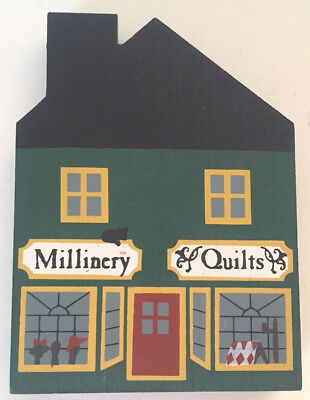 The Cats Meow Millinery Quilt Shop Series II