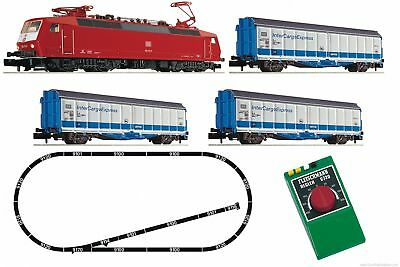 "Fleischmann 931702 N Analogue Starter Set: ""InterCargoExpress"""