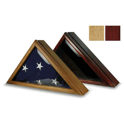 Flag Display Box for 5ft x 9.5ft Flag Hand Made, Army flag case