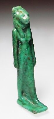 Zurqieh -As5445- Ancient Egypt. Nice Faience Amulet Of Sekhmet. 600 - 300 B.c