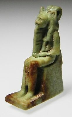 Zurqieh -As5446- Ancient Egypt. Nice Faience Amulet Of Sekhmet. 600 - 300 B.c