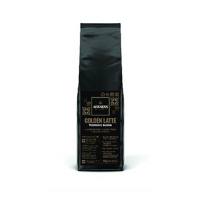 Arkadia 500g Golden Latte Tumeric Blend, Cafe Use, Sicilia Coffee Gluten Free