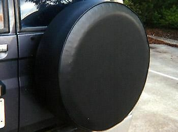 Textured Vinyl Spare Wheel Cover Piped & Elastised **3 sizes to fit**