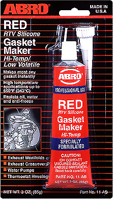 ABRO RTV Silicone Gasket Maker Red Silicone Instant 85g 11AB