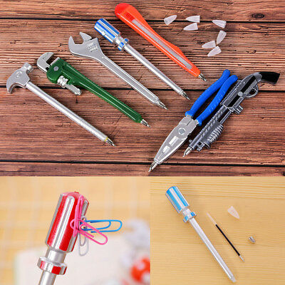 Wrench Tool Ballpoint Pen Novelty School Office Gift Kid Toy Stationery Random