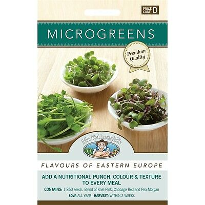 Mr Fothergill's Microgreens Flavours Of East Europe