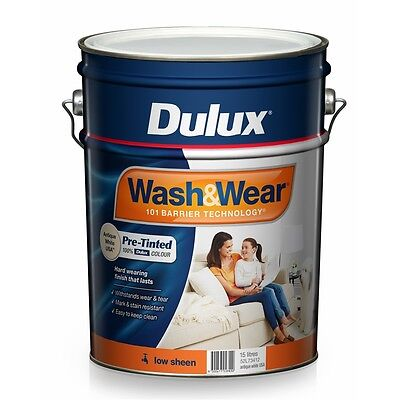 Dulux Wash&Wear 15L Antique White USA Low Sheen Paint