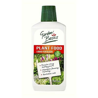 Garden Basics 750ml Liquid Plant Food Concentrate