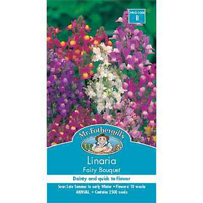 Mr Fothergill's Linaria Fairy Bouquet Flower Seeds