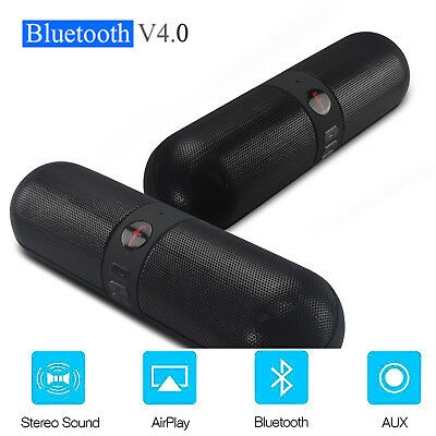 Bluetooth Lautsprecher Mini Musikbox Soundbar Tragbarer Speaker Usb Tf Wireless