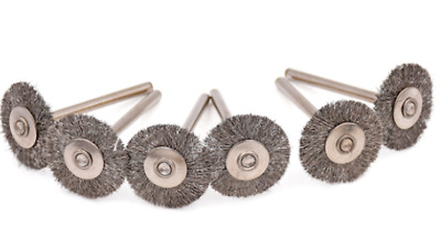 5pc 25 mm Steel Wire Wheel Brush Wheel For Dremel Accessories for Rotary Tools