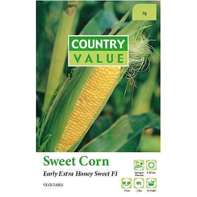 Country Value Sweet Corn Early Extra Honey Vegetable Seed