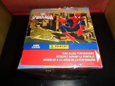 Panini Marvel Ultimate Spider-Man Stickers Box OLD SCHOOL MARVEL TRADING CARDS!