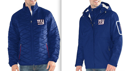 185 NEW YORK Giants NFL 3-in-1 Systems Winter Jacket 13107260a
