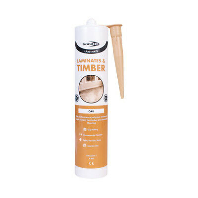 Lami-Mate Sealant Silicone Gap-Filler Timber Laminate Flooring Oak Pine Beech