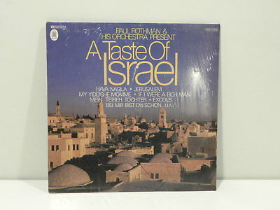 ★Lpm A Taste Of Israel Paul Rothman And His Orchestra Emi Germany Neue ★Ct05