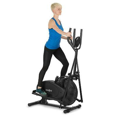 Ellittica Cyclette Cross Trainer Allenamento Bicicletta Casa Cardio Workout