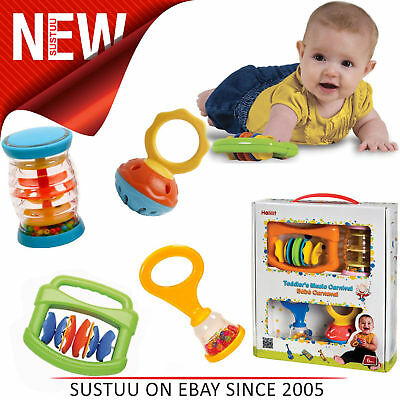 Halilit Toddler's Music Carnival Musical Instrument Gift Set With Sound+Effects
