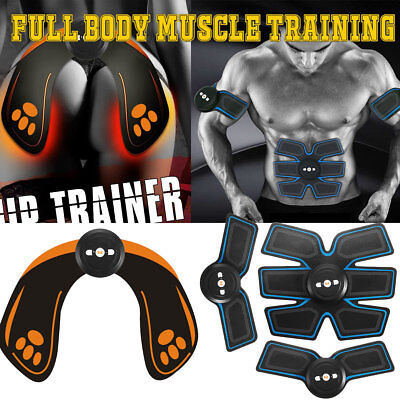 USB Full Body Muscle Training Gear Abdomen Hip Buttock Bum Trainer Enhancer Lift