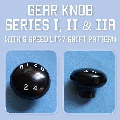 Land Rover gear knob 217735 with LT77 shift pattern