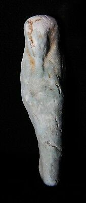 Zurqieh -As5456- Ancient Egypt. Faience Ushabti.  600 - 300 B.c