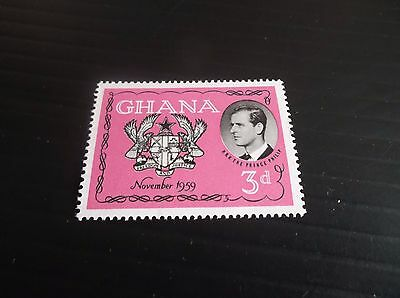 Ghana 1959 Sg 233 Visit Of The Duke Of Edinburgh Mnh