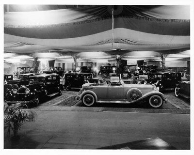 1932 Packard Eight Deluxe Sport Phaeton ORIGINAL Photo Negative nad2128