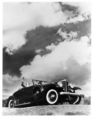 1933 Packard Super Eight 1004 Roadster ORIGINAL Photo Negative nad2164