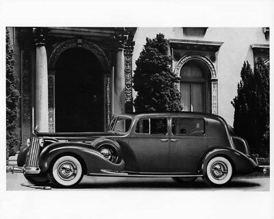 1939 Packard 12 Club Sedan ORIGINAL Photo Negative nad2230