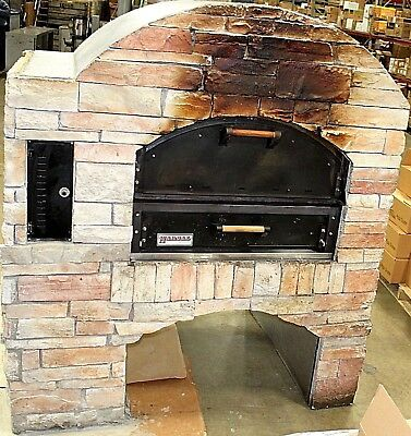 Stone-Faced Gas Pizza Oven