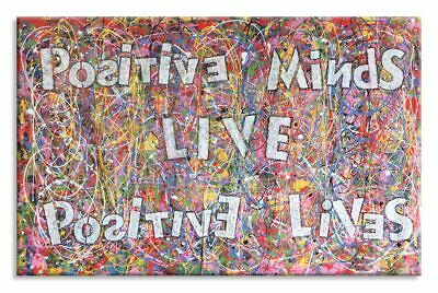 Original Acrylic Abstract Painting on canvas, by Dr8Love Positive Minds