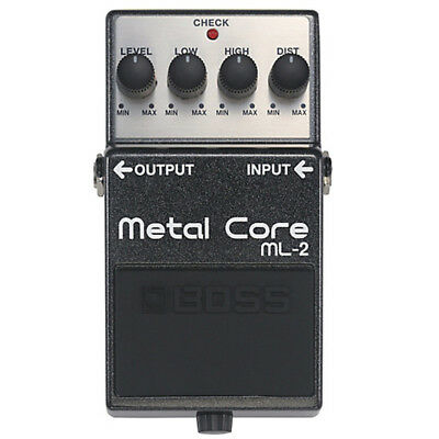 Brand New Boss ML-2 Metal Core Distortion Pedal