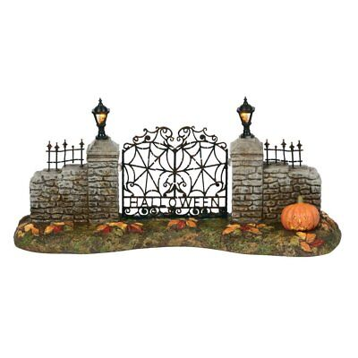 Department 56 Snow Village Halloween Gate