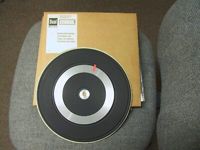 Dual 1224 Or Dual 1225 Turntable Mat - New Old Stock
