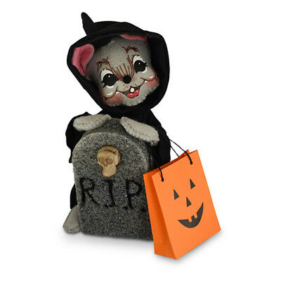 Annalee Dolls 6in 2018 Halloween Happy Reaper Mouse Plush New with Tags