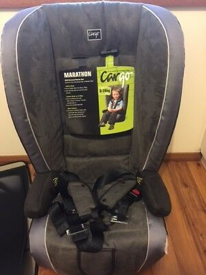 Cargo Marathon Booster Seat with In-built Harness and Car Seat Mat