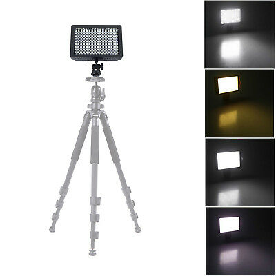 Bright 160 LED Studio Video Light for Canon Nikon DSLR Camera DV Camcorder