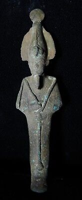 Zurqieh -As5465- Ancient Egypt. Bronze Statue Of Osiris.  600 - 300 B.c