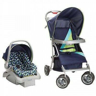 COSCO Lift & Stroll Travel System Car Seat & Stroller Metro Dot  TR325CDC